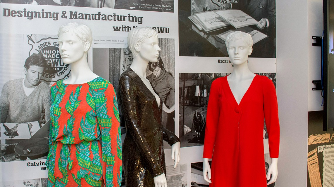 """Union Made: Fashioning America in the 20th Century"" celebrates the history of the U.S. fashion industry and American textile production through the lens of the history of organized labor."